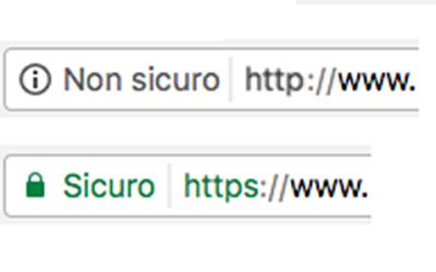 Google chrome e i siti non sicuri. Ora si fa sul serio