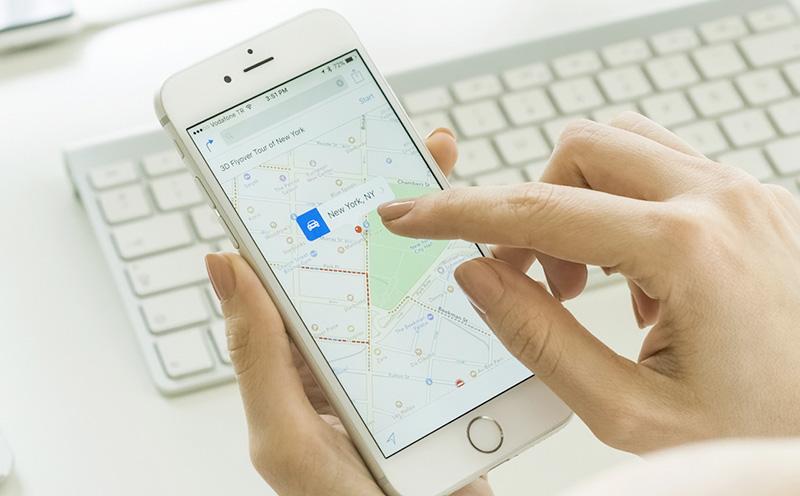 Come apparire sulle mappe di Google